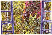 Joseph Raffael Watercolor Paintings made in 2001