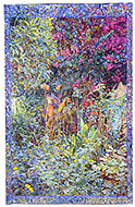 Joseph Raffael Watercolor Paintings made in 2004